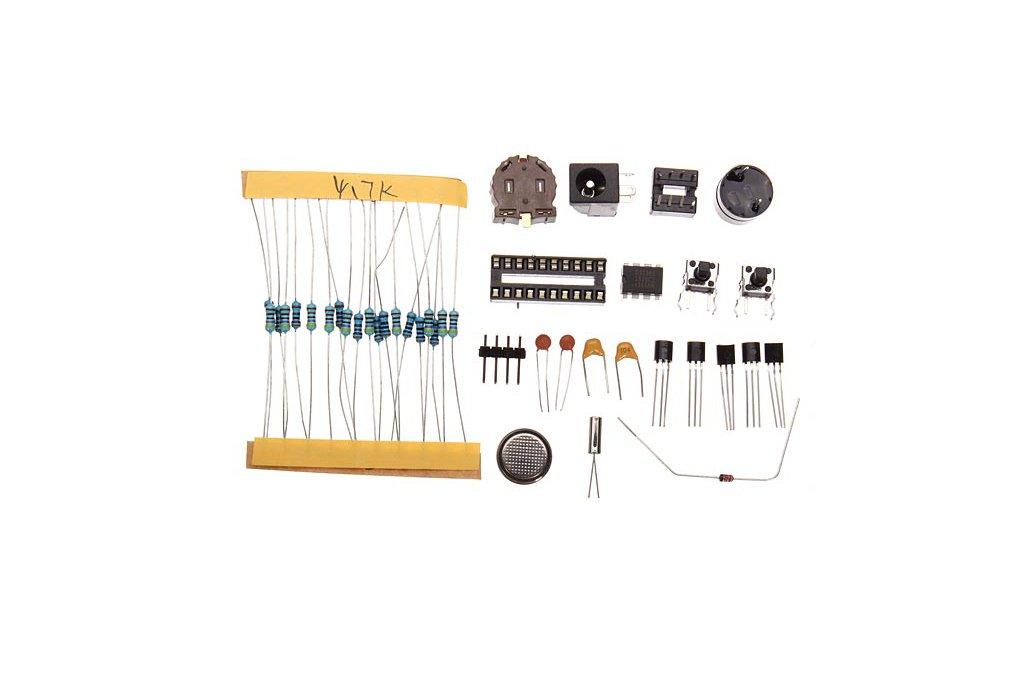 DIY 4 Digit LED Electronic Clock Kit Large Screen  7