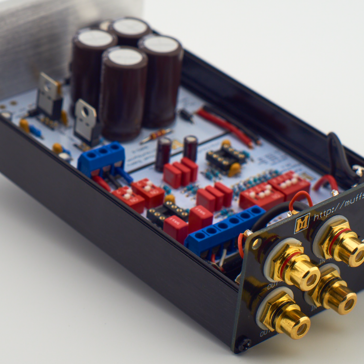 Muffsy Phono Preamp Kit From On Tindie Wiering 220v 20 Amp Straight Blade Outlet Electrical Diy Chatroom