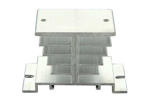 Aluminum Alloy Heat Sink For Solid State Relay SSR
