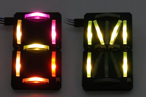 Laser Segment Display