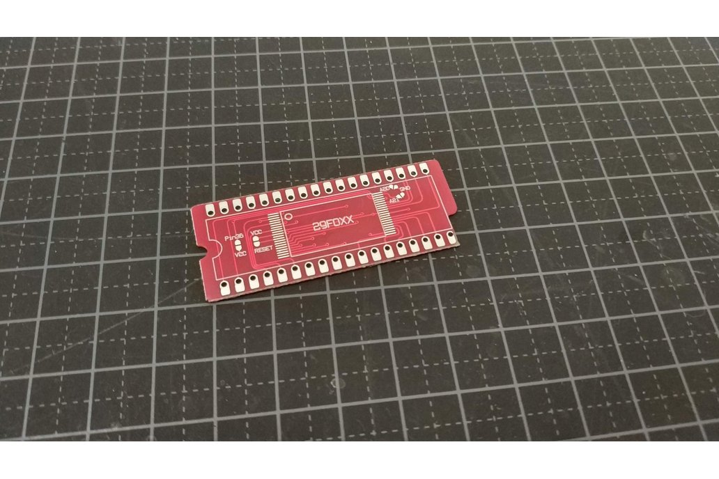 29F032 to SNES Rom adapter 1