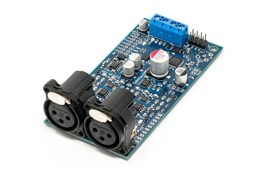 ADC AK5572 - High performance audio AD-converter 1