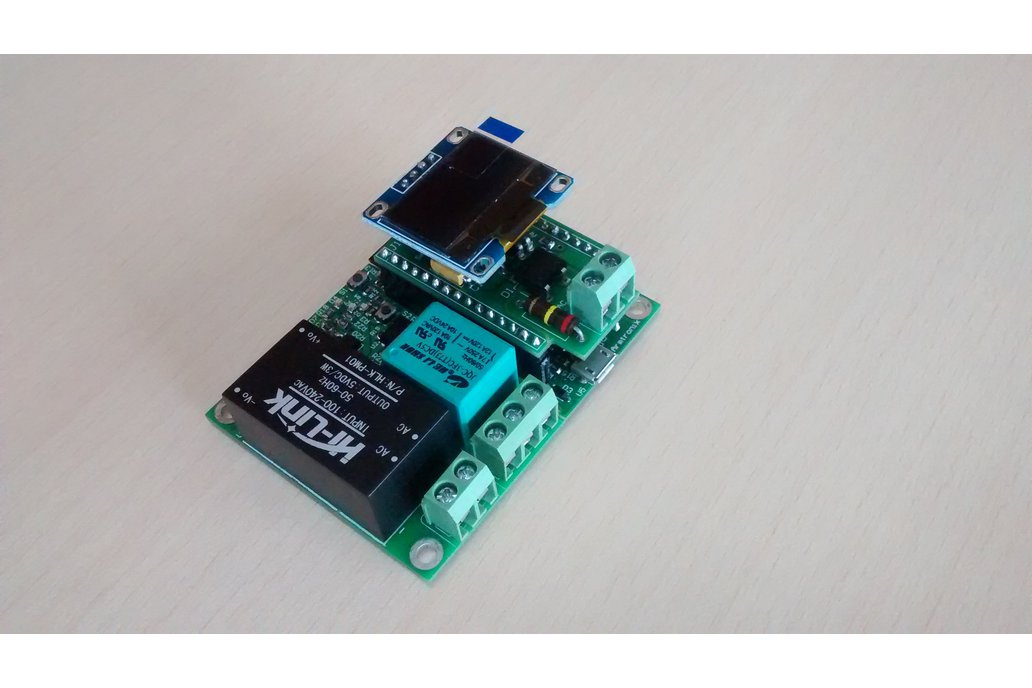 Wifi Esp8266 Smart Switch with Single Relay Board 7