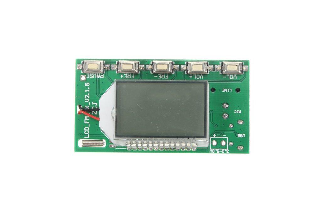 DSP PLL FM Transmitter Module - USB/Aux-In - 100mW 3