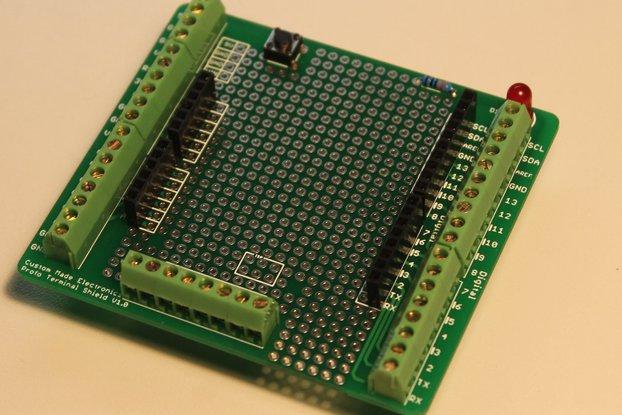 Arduino Proto Terminal Shield