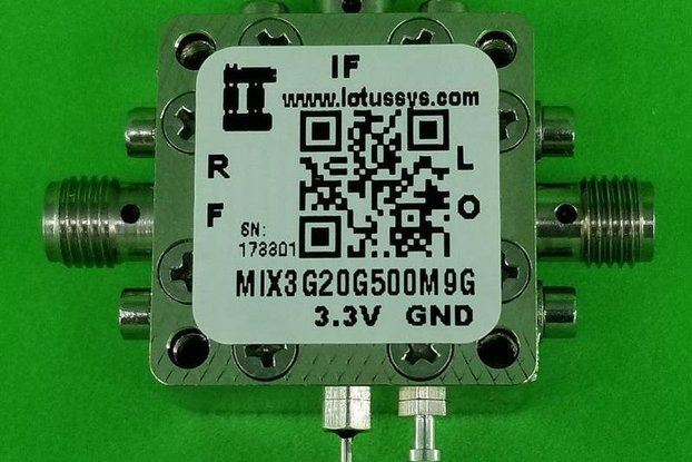 MIXER 3-20GHz RF and 500M - 9G IF (LTC5553)
