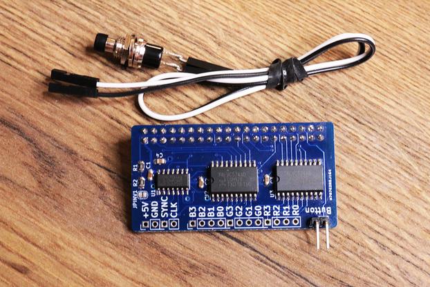 AMIGA 600 HDMI Raspberry Pi Zero module A600