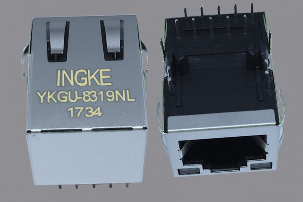 7499111447 Gigabit  RJ45 connector with magnetics