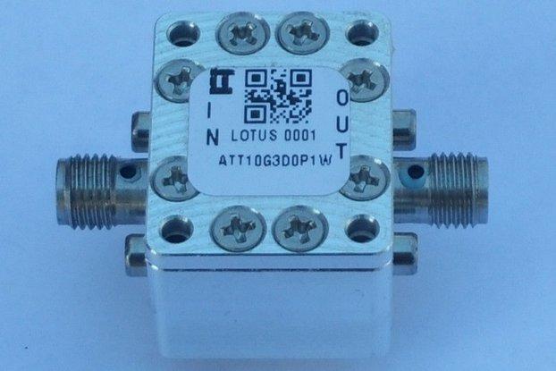 Attenuator 3dB 100mW (0~10 GHz)