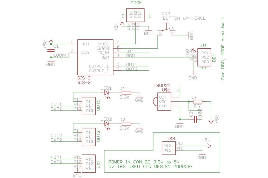 SIS-2 Universal IR Remote Control Dev Board 4