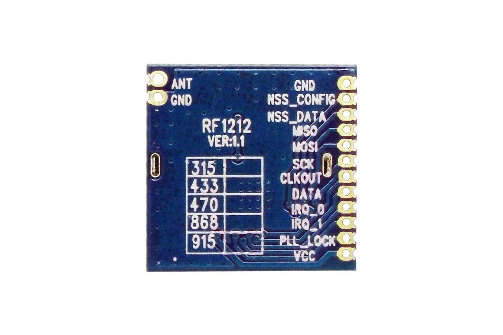 RF1212 Ultra-low power Wireless Transceiver Module 1