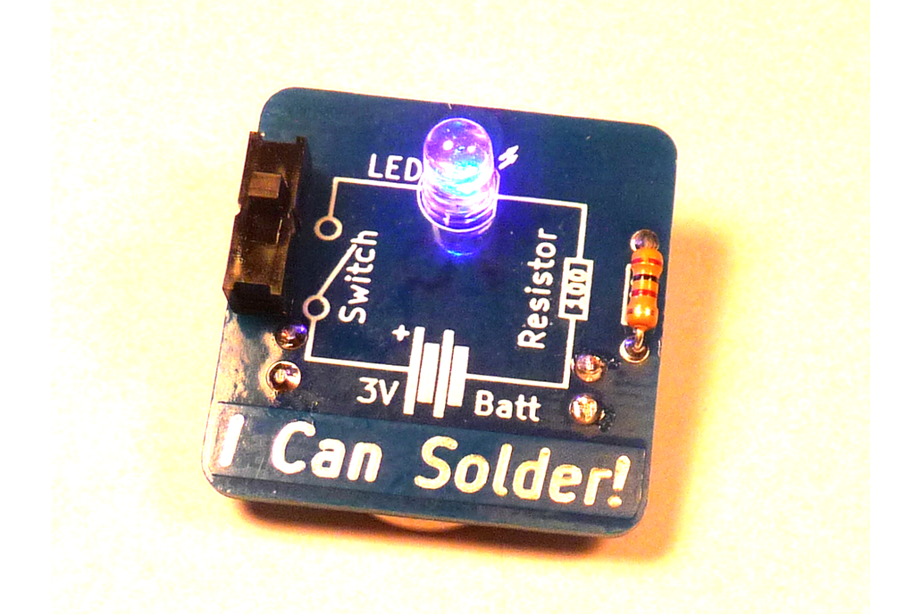 I Can Solder Badge 1