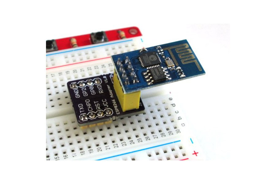 ESP8266 breadboard adapter
