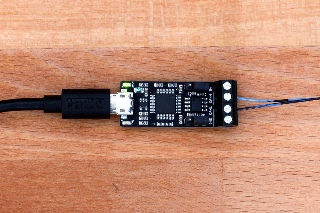 canable usb to can bus adapter from protofusion labs on tindie. Black Bedroom Furniture Sets. Home Design Ideas