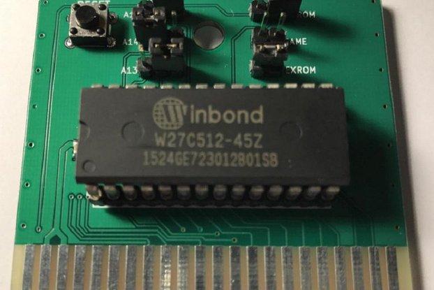 OpenC64Cart 8K - Blank Commodore 64 Cartridge