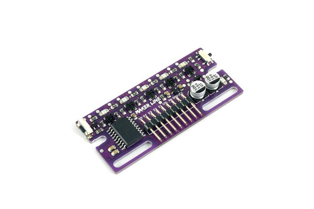 Maker Line: Simplifying Line Sensor For Beginner 1