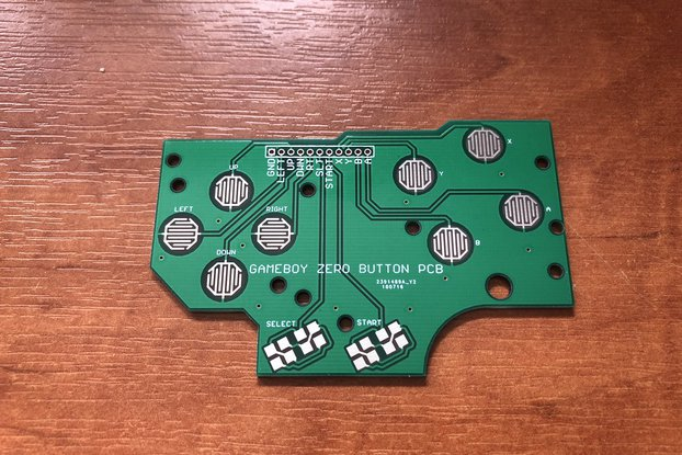 Nintendo Game Boy DMG Button PCB