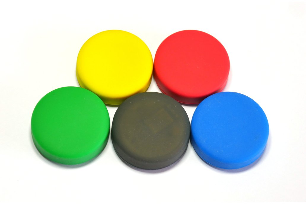 Puck.js cases (Black, Red, Yellow, Green, Blue) 3