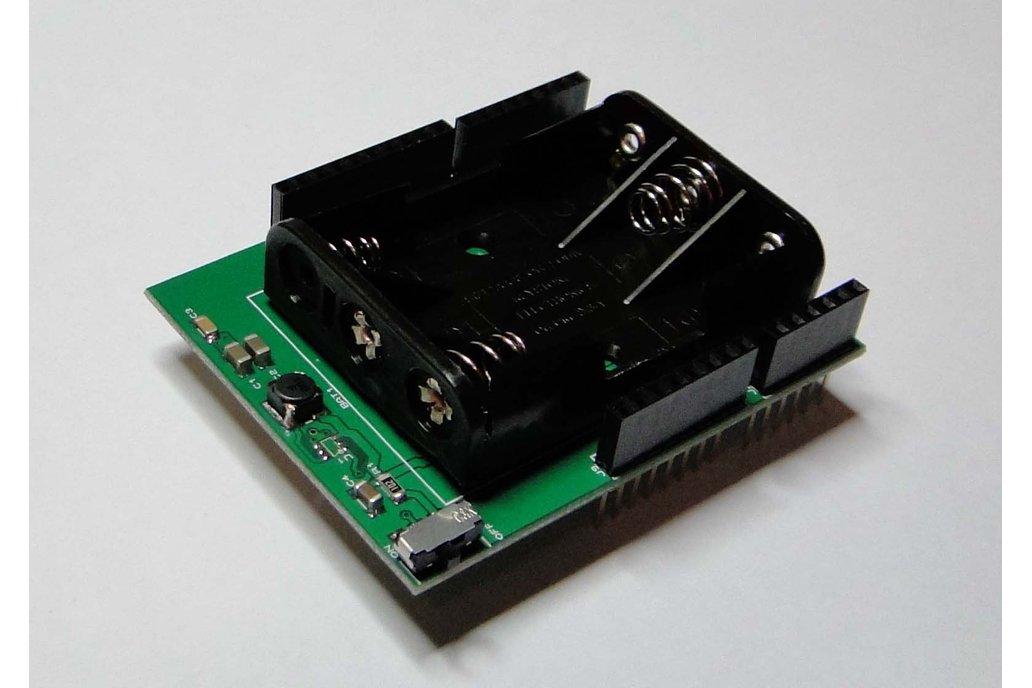 BatteryDuino - Battery shield for Arduino 1
