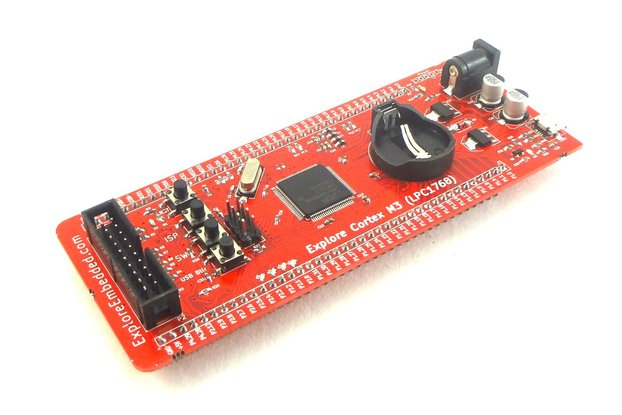 Explore Cortex M3 (LPC1768) Development Board
