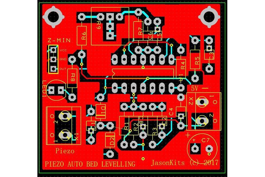 3D Printer Piezo Electric Sensor Z-Min Auto Level