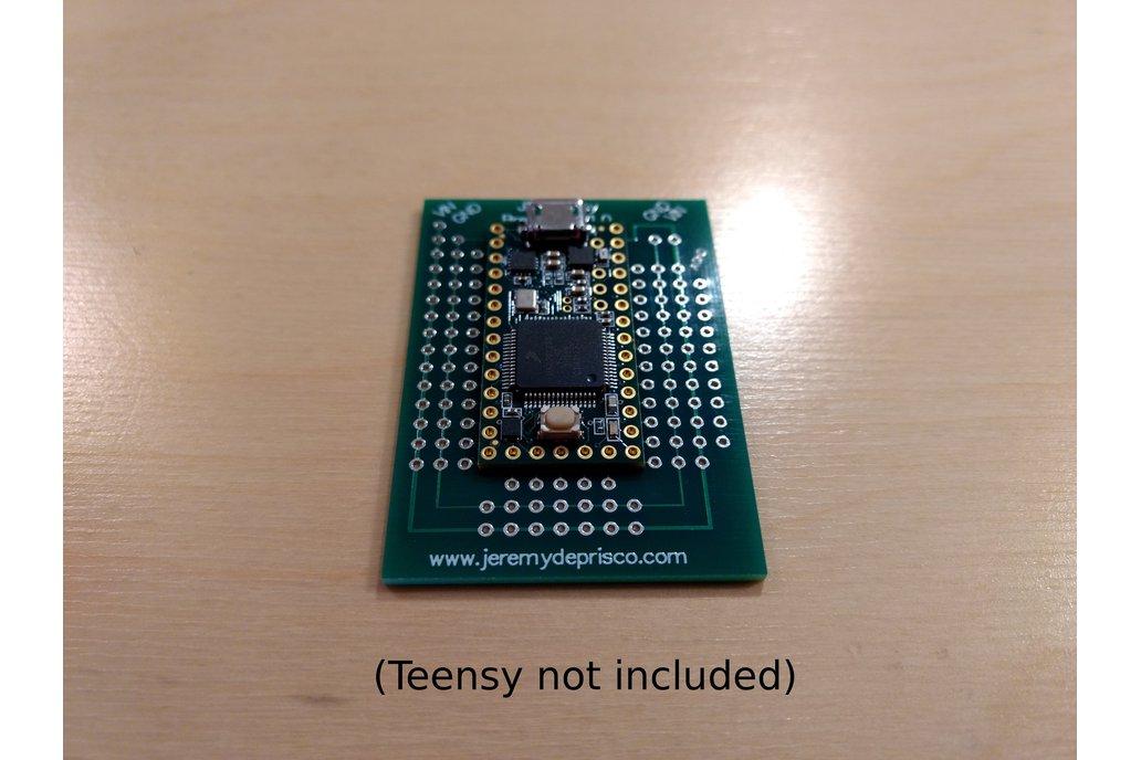 JD Teensy Breakout V1.0 3