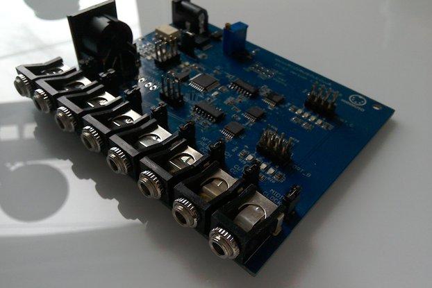 MIDI to CV Converter Midimuso CV-12 Octex
