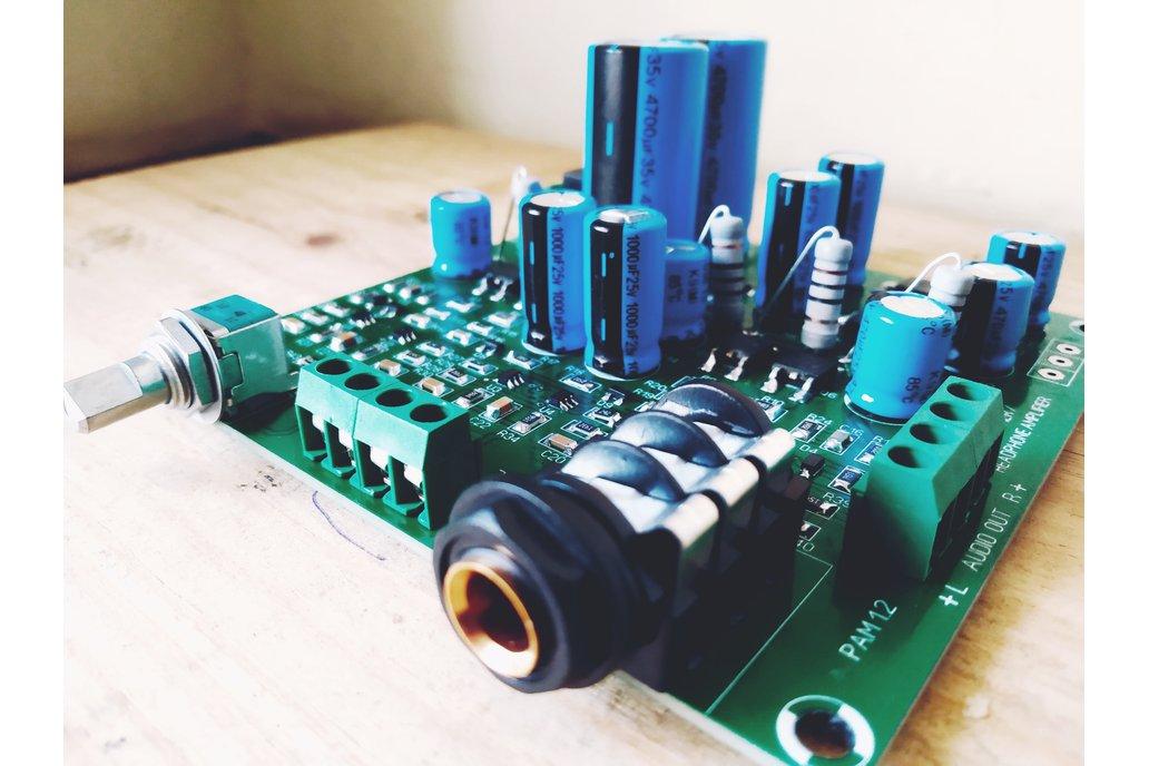 Discrete Dynamics DIY Class A Preamp/Headphone amp 1