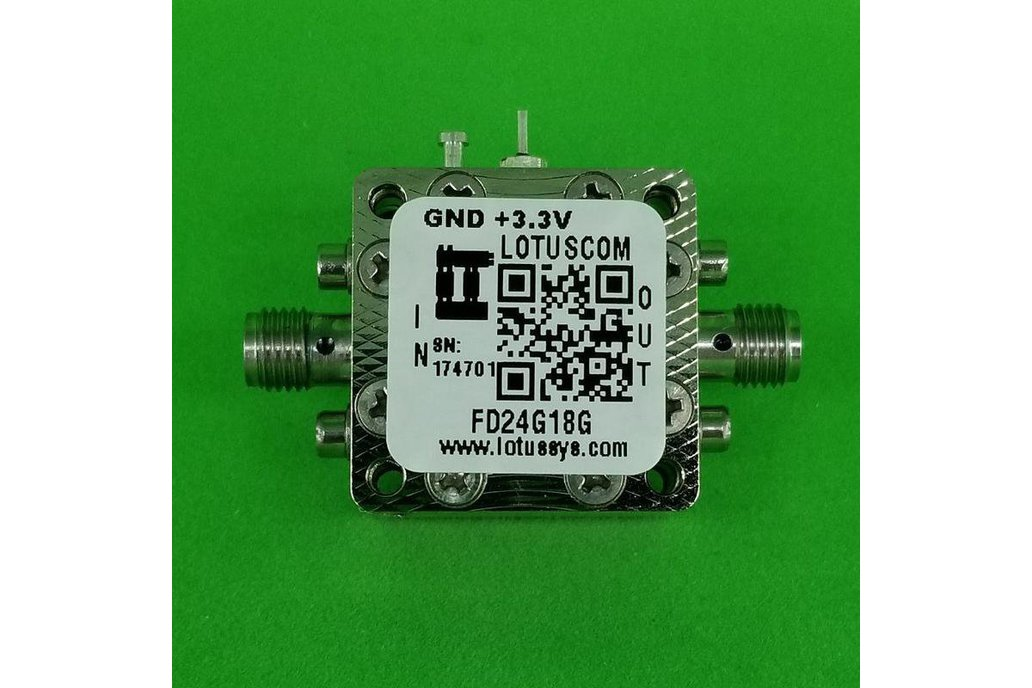 Frequency Divider/Prescaler Divide by 2 (4~18 GHz) 1