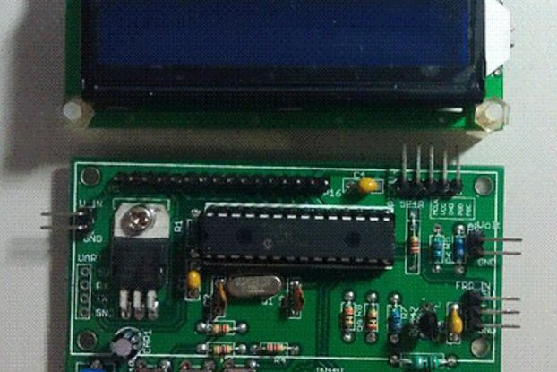 50MHz LCD Frequency Counter Module with IF Offset