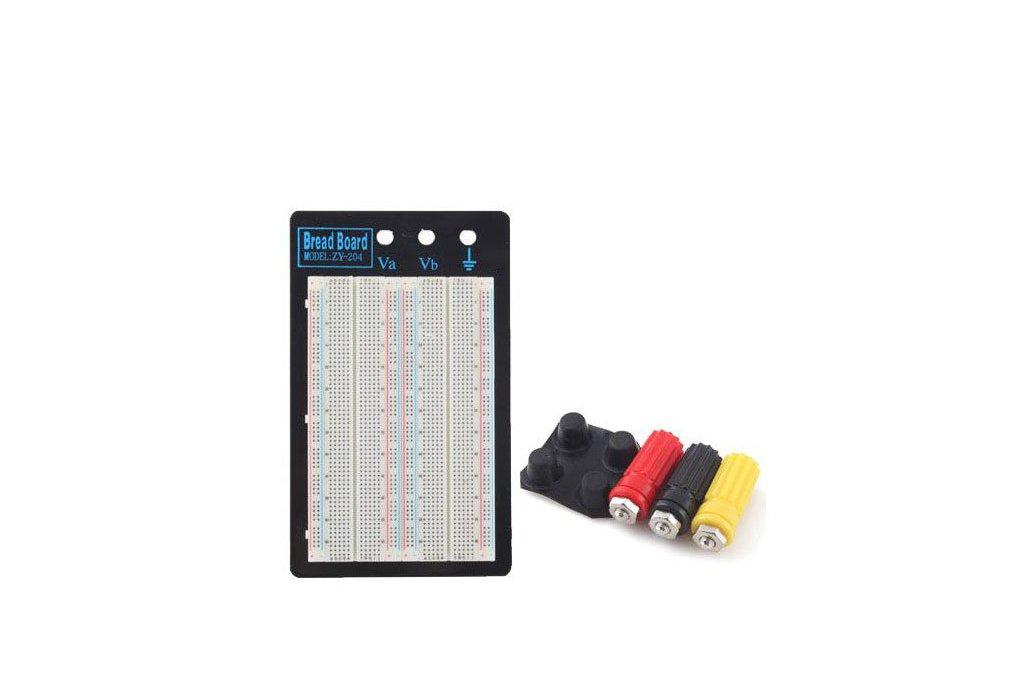 4 Bus 1660 Point Solderless Bread Board Protoboard Test Circuit Board 1