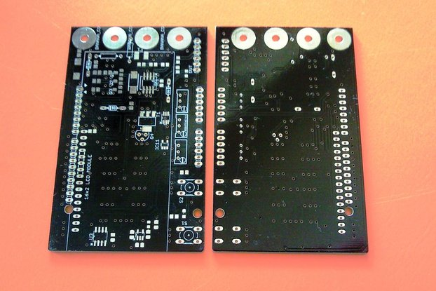 Bare PCB for Arduino DMM / Miliohm meter shield