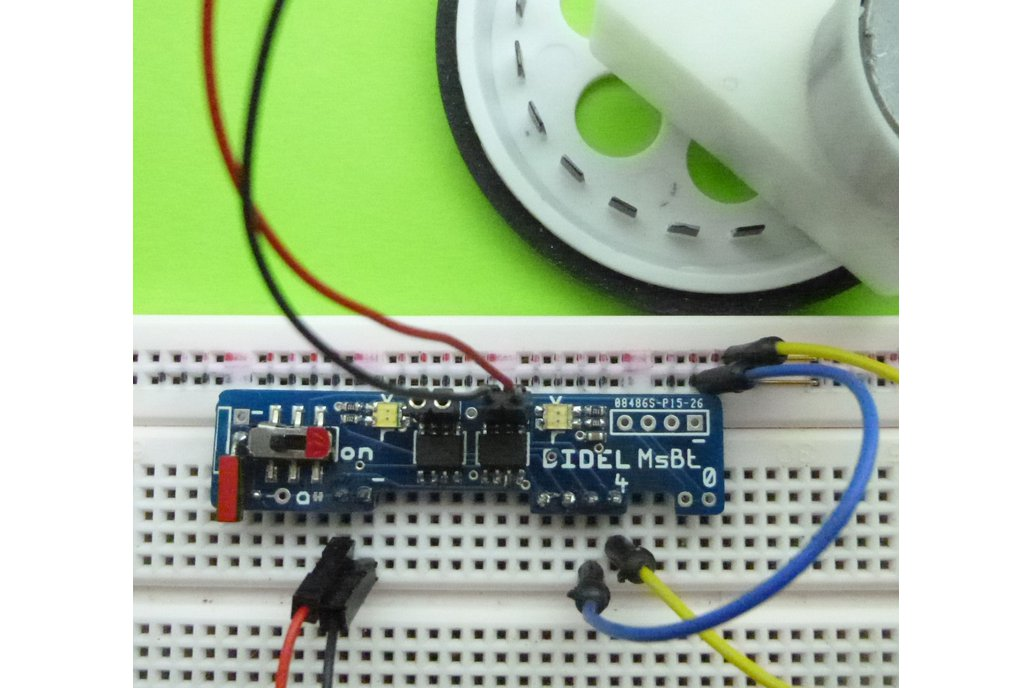 Mini-shield for two motors with LEDs and powerOff 4