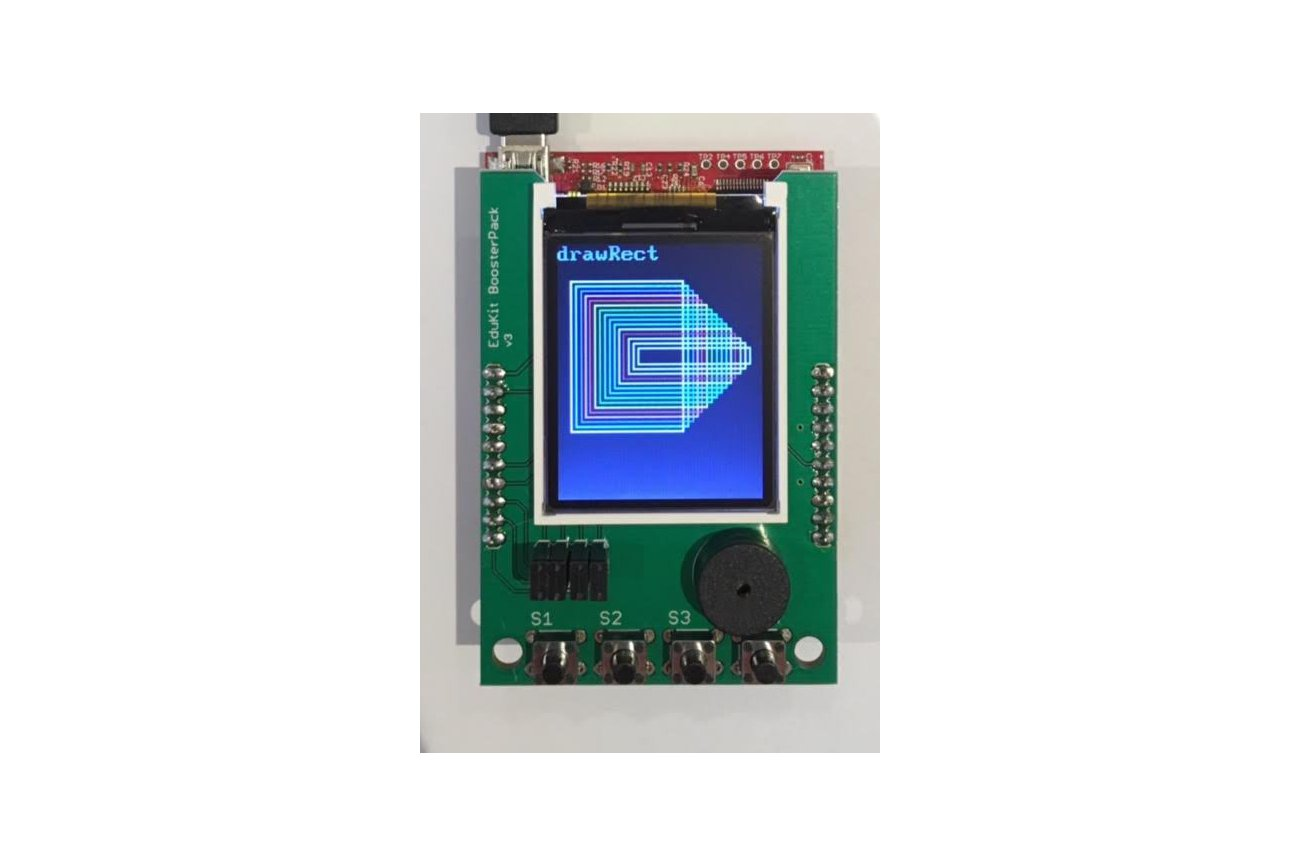 """1.8"""" Color LCD Educational BoosterPack (25 pcs)"""