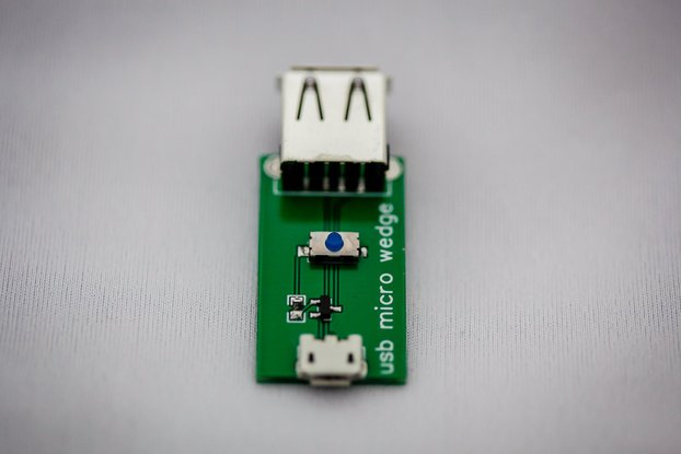 USB micro wedge - 5V interruptor