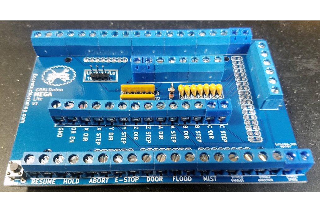 GRBLDuino Mega Lite-GRBL 1.1 Arduino CNC Shield 1