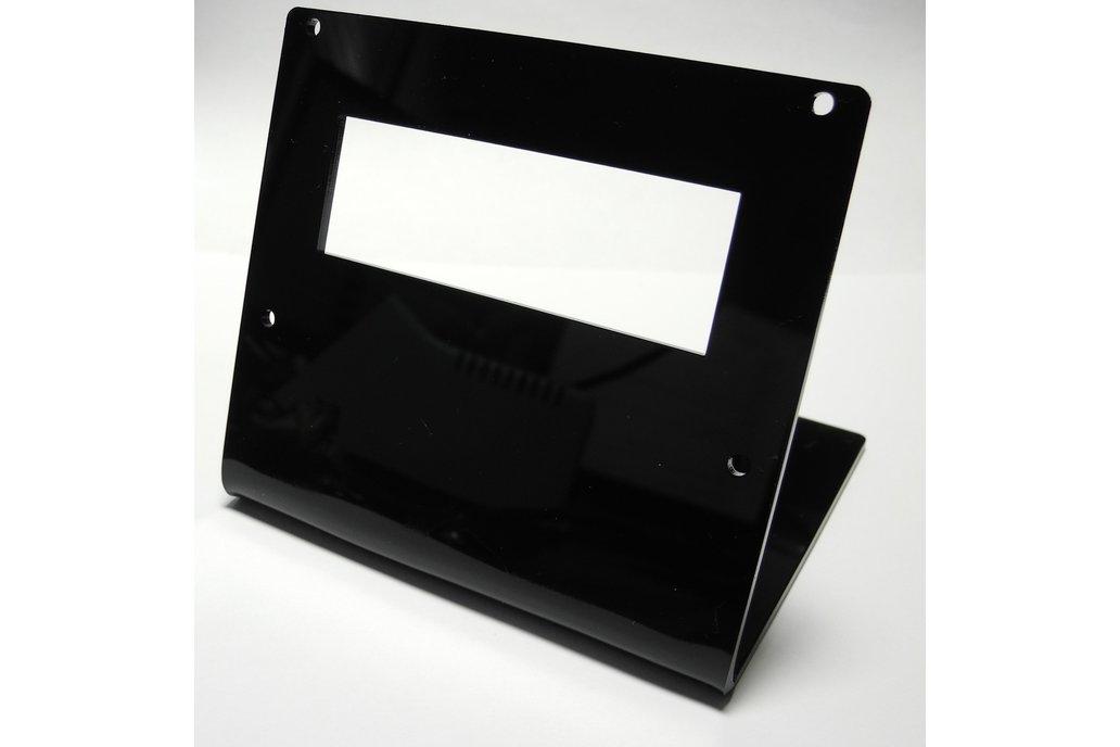 20x4 Acrylic LCD Stand Black 1