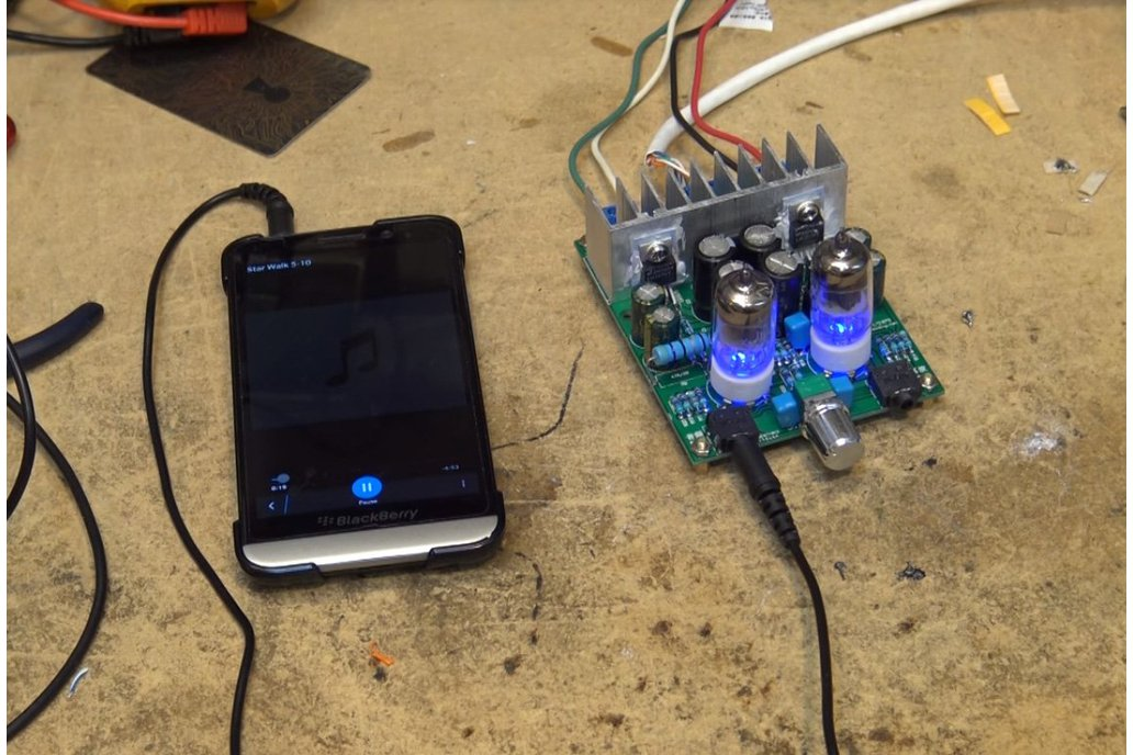 DIY Hybrid Power Amplifier Board LM1875T(12008) 2