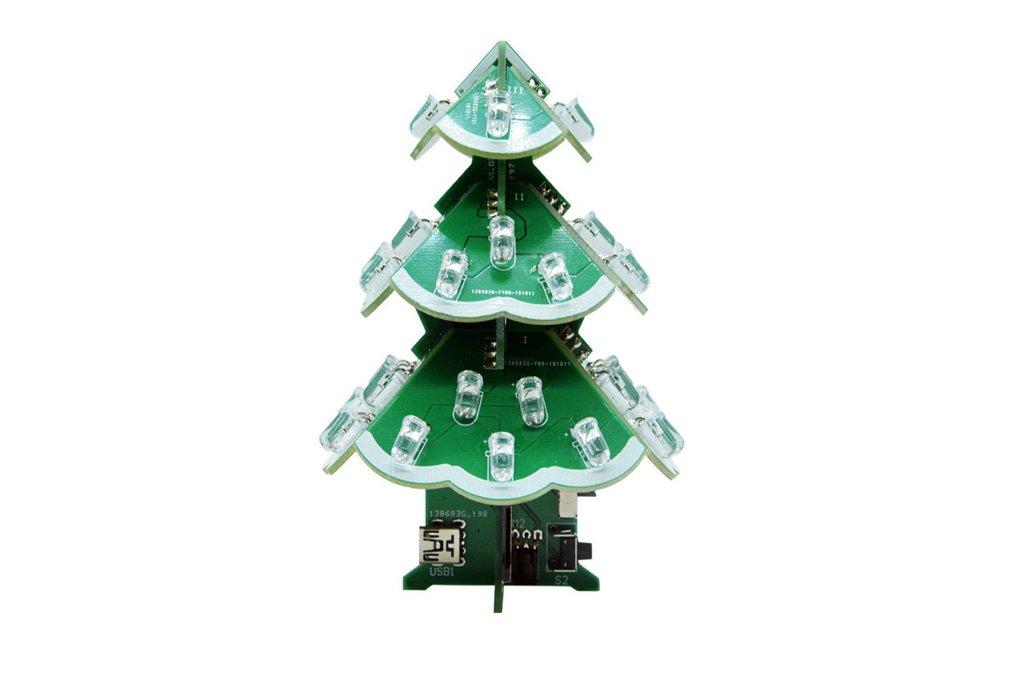 DIY Kits Colorful Remote control Music Christmas 1