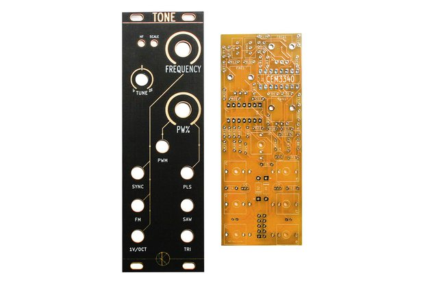 TONE Eurorack Module PCB and Panel Set by Rat King