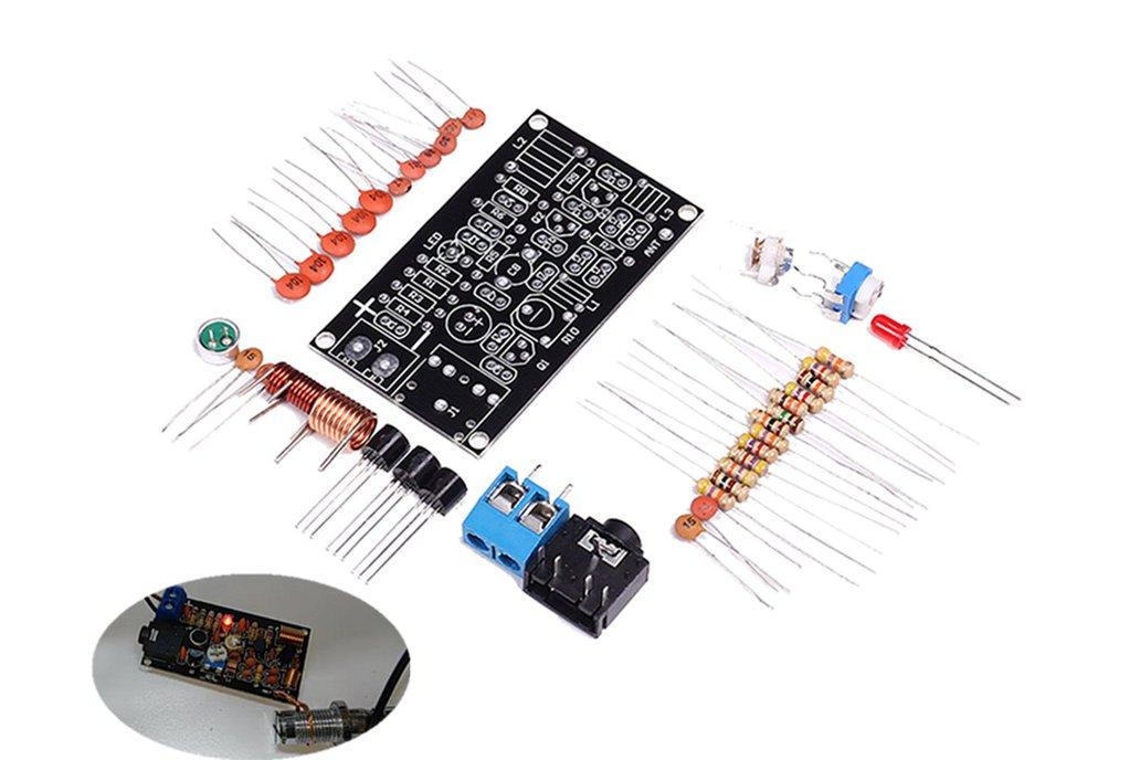DIY FM Microphone Radio Transmitter Kit (11840) 1