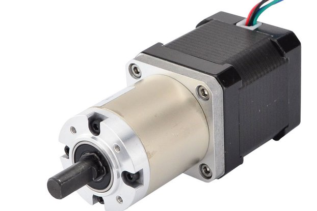 Nema 17 Stepper Motor 48mm Length w/ 51:1 Gearbox