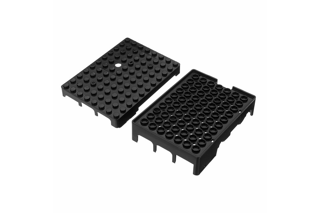 Black ABS Enclosure Box For Raspberry Pi 3 5