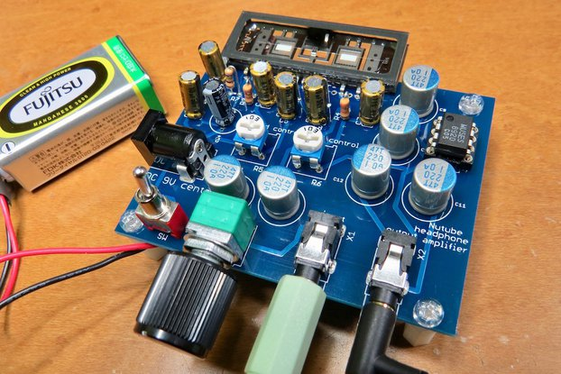 Nutube amp kit, a vacuum tube in new century REV2