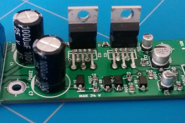2 x 20 Watt Audio Amplifier