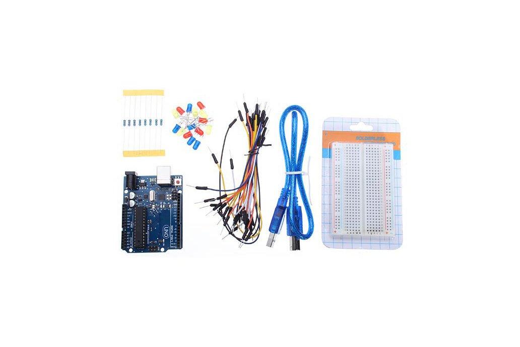 UNO R3 Development Board Starter Kit Basic Kit For 1