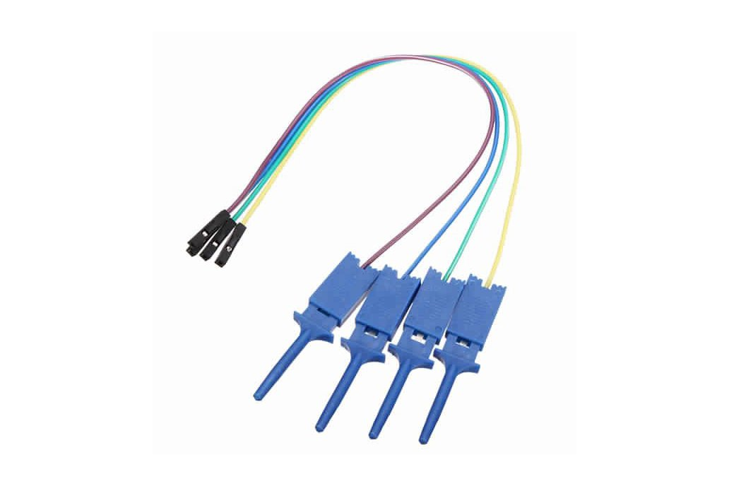 12Pc Test Clamp Wire Hook for Logic Analyzer 1