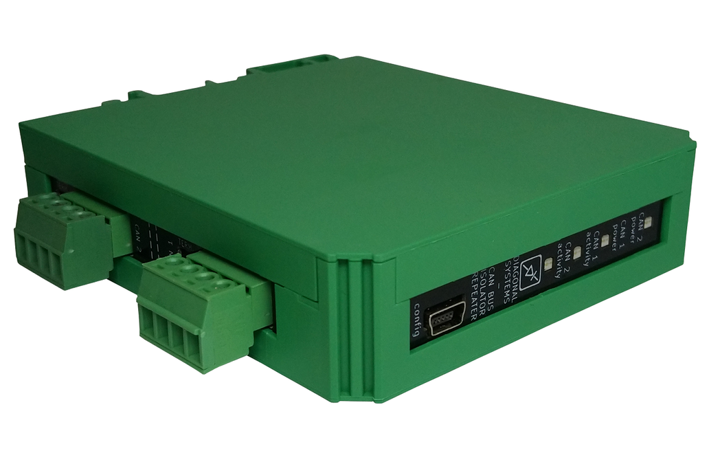 Configurable CAN Bus Isolator / Repeater 1