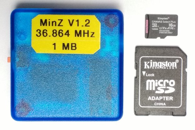 MinZ-C : Small Cased 33 or 36 MHz Z180 with CP/M