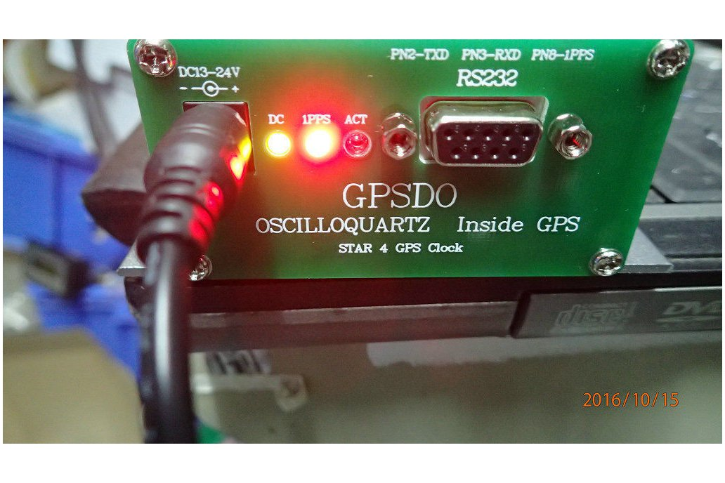 10mhz GPS disciplined Frequency Reference